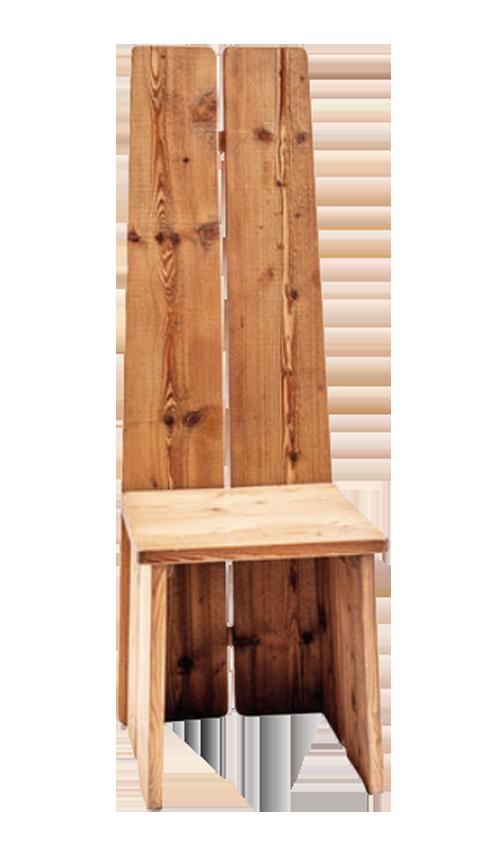 Sedia trono silvestre ZigZagcortina ValentinaBernardi
