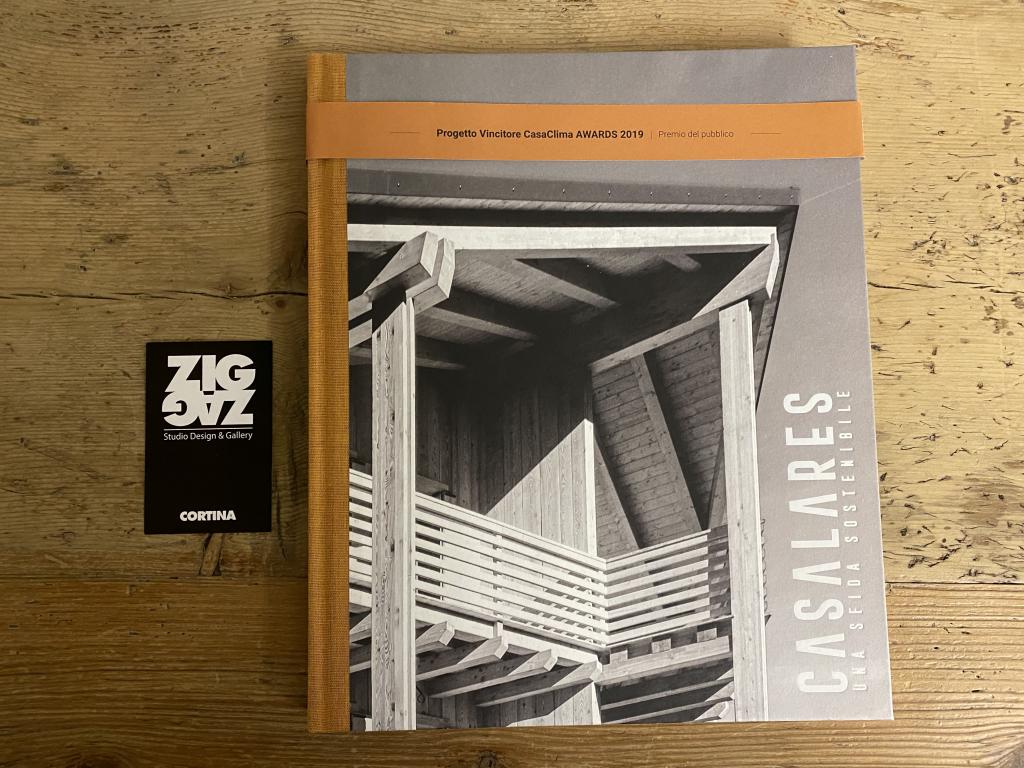 ZigZag Cortina presente nella pubblicazione Progetto Vincitore CasaClima AWARDS 2019