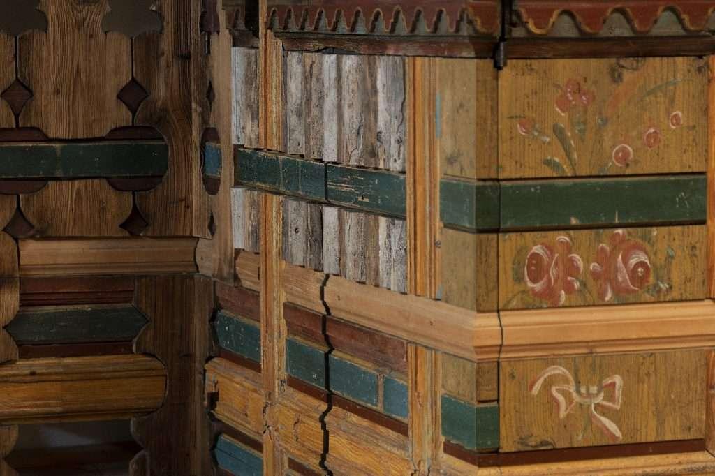 patchwork coro alpino zig zag Cortina